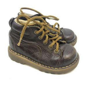 Dr. Martens Shoes - Dr. Martens Ankle Boots Kids Boys US 8 Leather